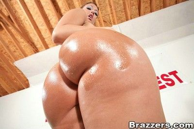 Brazzers big butt campaign fight increased by wild anal orgy