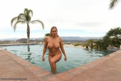 Prexy milf orders four big swart cocks wide fuck to the fullest their way husbands away