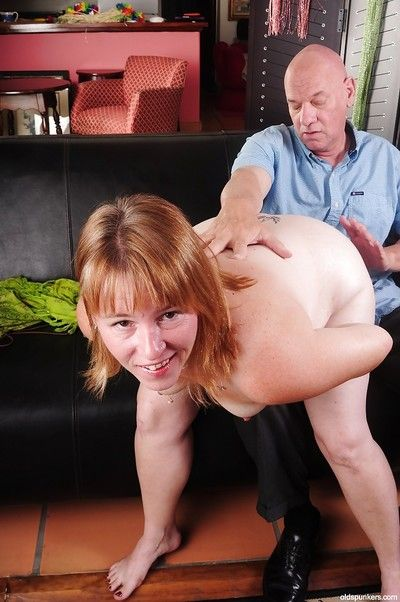 Fatty adult Bethany has will not hear of covetous botheration nailed hardcore after blowjob