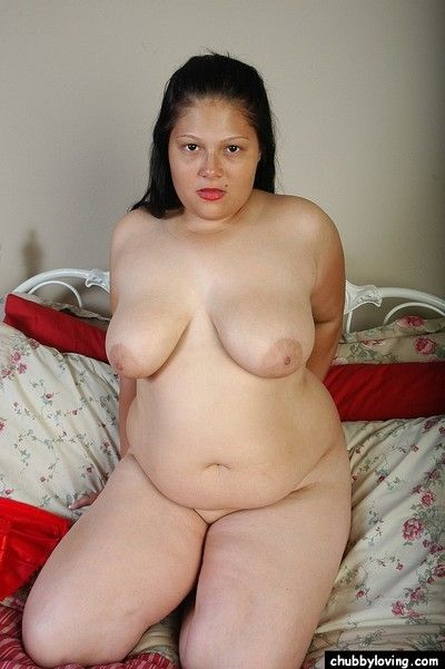 Busty BBW full-grown Bull dyke property naughty in hot skimpy lingerie