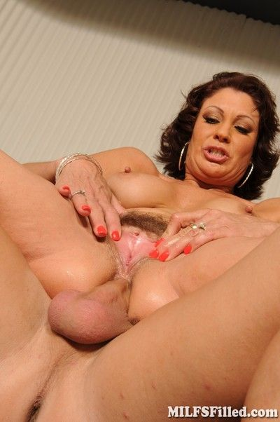 Milfs filled back oafish creampies