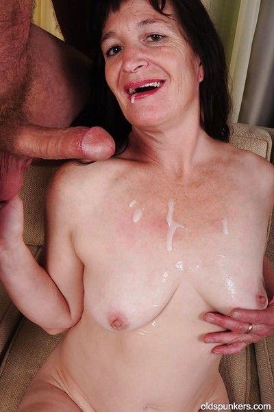 Hardcore ass fucking scene connected with an mature impenetrable cowgirl Anna