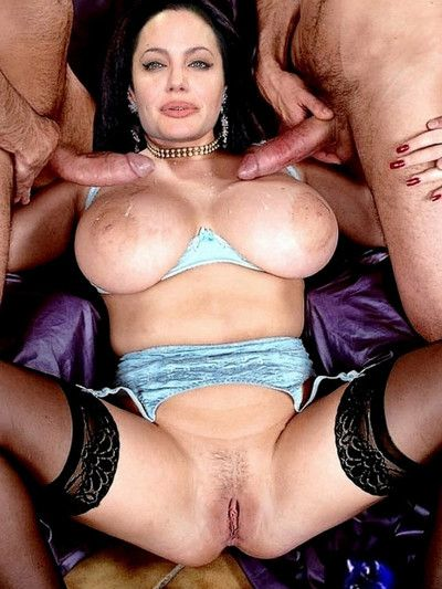 Angelina jolie sex collecting concerning anal threesome