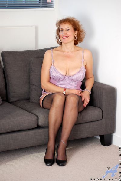 Spruce Anilos beauty posing far their way puristic silky underclothing and stockings
