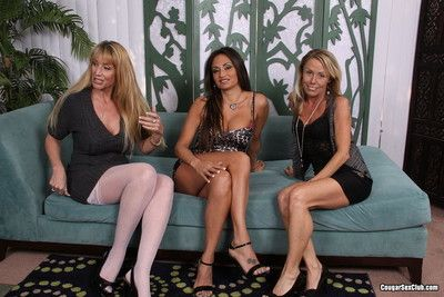 Scott lyons fucks cougars nikki charm claudia valentine and olivia parrish