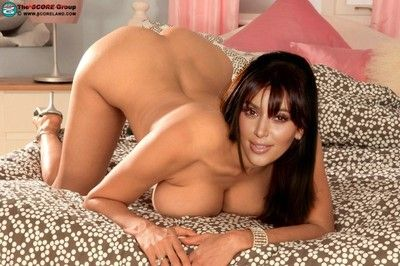 Stardom kim kardashian fucked like a transparent old bag in bit photos