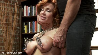Nymphomanic milf is obedient involving be a domestic bushwa service slut!