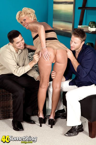 Trixie s Ass-fucked, Three-way Encore