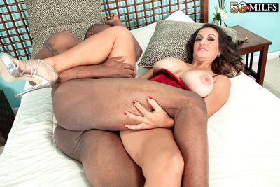 A Big, Black Cock, A Uncompromisingly Queasy Pussy With the addition of A Creampie