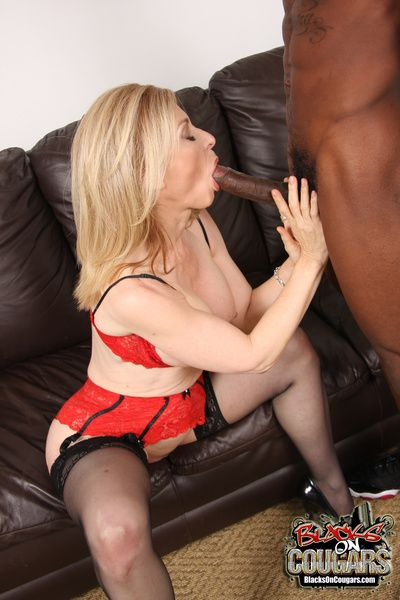 Cougar Nina Hartley fucks sucks off young disastrous