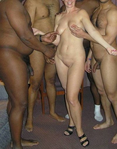 Tyro interracial cuckold homemade copulation