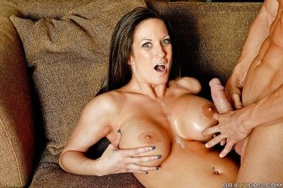 Busty matured Stephanie Wylde gets hardcore weakened by a huge cock