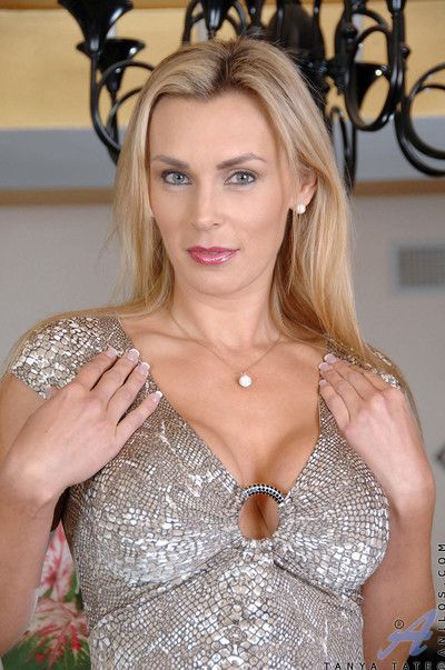 Big titted tanya tate slips off will not hear of dusk wear with an increment of fingers will not hear of shaved anilos p