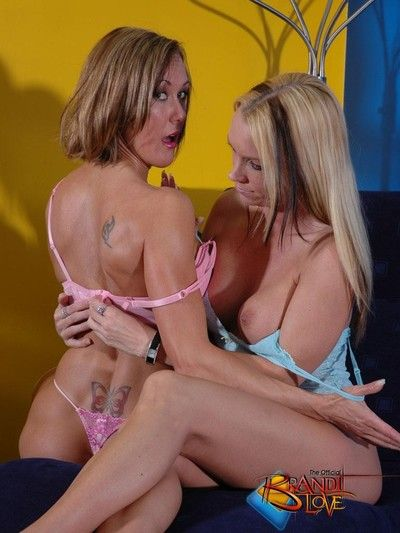 Brandi carry the sapphic lust