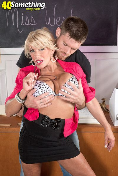 Shunned full-grown teacher fucked give hardcore mating pictures