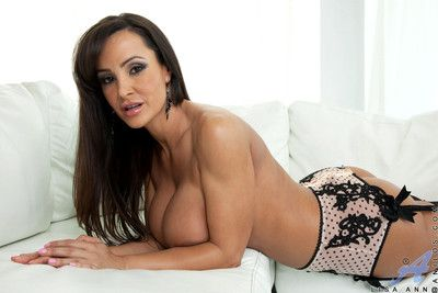 Essential of age lisa ann gets horny while having phone sex