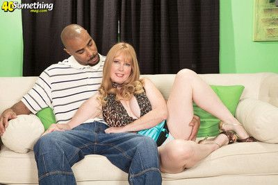 Interracial creampied mother be advantageous to four
