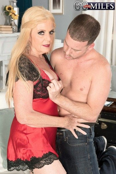 63yearold mummy together with grandmother fucked be worthwhile for free