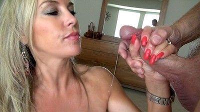 Heavy boobed milf wifey cumshot pictures