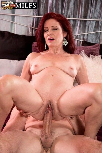 Redhead full-grown woman fucked beside first time oncamera