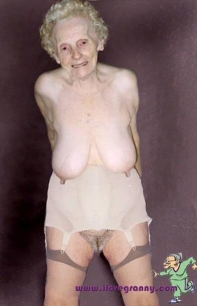 A difficulty pioneering granny porno