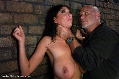Chum around with annoy mechanic: huge natural tits milf fucked plus dominated!!!