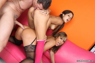 Ava devine coupled with say no to sprog shagging a load of shit