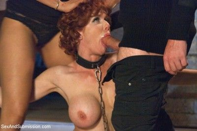 Veronica avluv gets fucked in bondage
