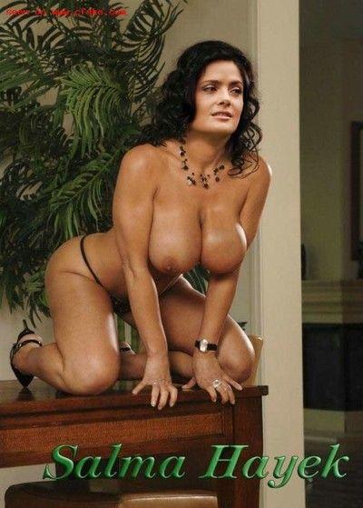 Latina eminence salma hayek gets cum facial