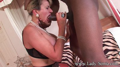 Milf lady sonia having rough said sex wide black lady