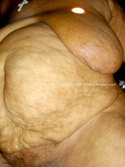 Chunky and complying saggy granny Bristols