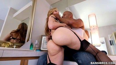 Milf bigwig julia ann goes chunky together with ebony