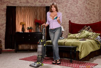 Darla davit is a busty housewife just minding will not hear of own intrigue and surfactant will not hear of