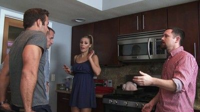 Fair-haired stack nicole aniston takes play host to a guy