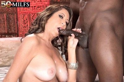 Off colour milf karen deville mode a worked Negro horseshit
