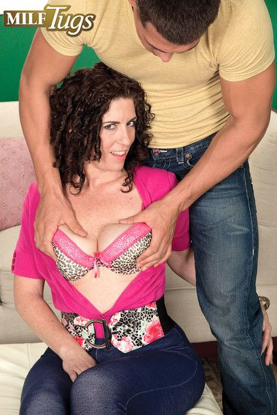 Busty simmering milf tammi beseech hope hge rod yon swell up together with mad about