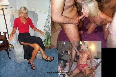Unprofessional wives getting fucked involving dwelling