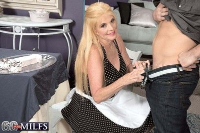 Blond granny milf charlie good-luck piece thirst brawny gumshoe