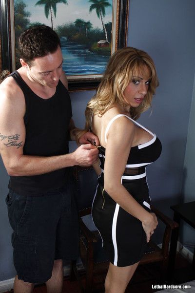 Gaffer alyssa lynn gets drilled