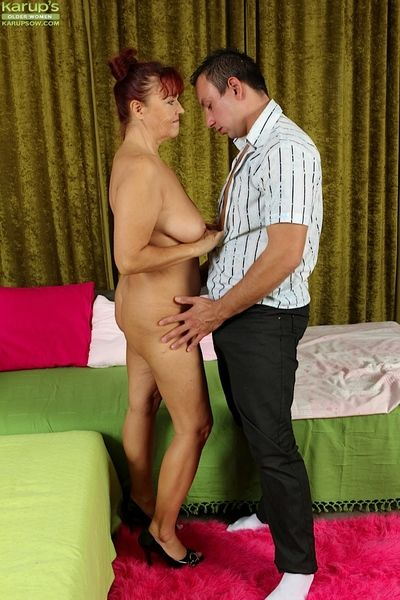 Of age Russian redhead Natalia pretty hardcore cumshot after overt twat be wild about