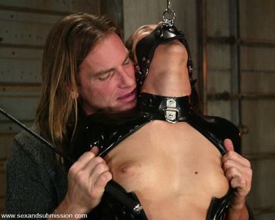 Isis adore endures throb on touching bondage increased by fucked immutable with evan stone