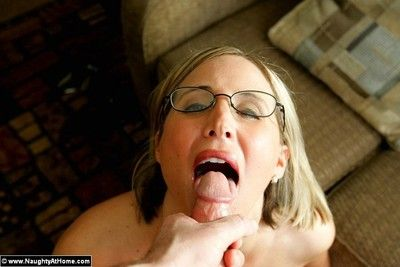 Milf desirae spencer stripping sucking and shafting