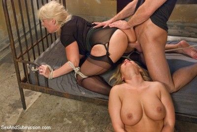 Alura jenson and mellanie monroe gets fucked almost enslavement