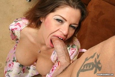 June summers gets say no to shaved pussy fucked