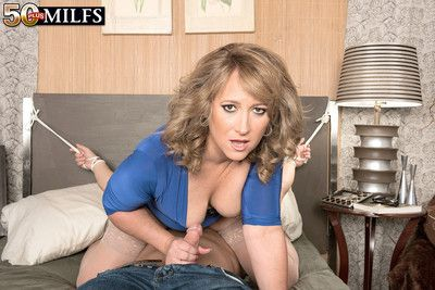 Incorrect aureate milf craving huge firm load of shit bottomless gulf less her ass
