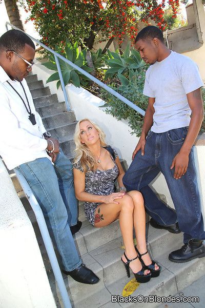 Zoey portland getting anal-gangbanged hard by ebony guys