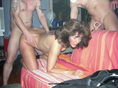 Slutty mature amateurs around cocks in their mouths