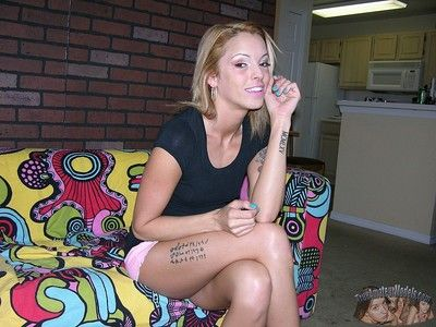 Nude tattooed unskilled grown-up milf bella - true unskilled models