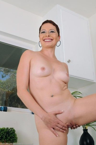 Hot milf nigh short become angry strips ripening