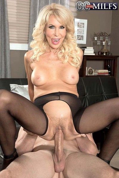 Sexy pantyhose milf erica lauren sucking gargantuan learn of